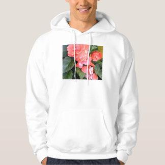 Salmon Begonia Hoodie