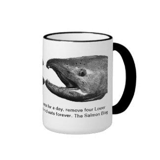 Salmon Blog Fish Mug