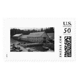 Salmon Cannery Ketchikan, Alaska 1918 Postage