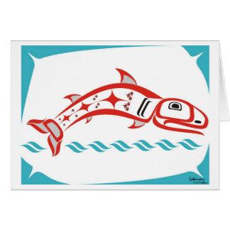 Salmon Card