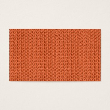 Beach Themed Salmon Coral Weave Mesh Look Business Card