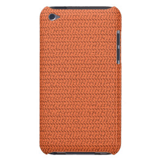 Salmon Coral Weave Mesh Look Case-Mate iPod Touch Case