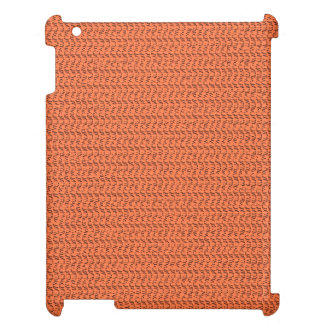 Salmon Coral Weave Mesh Look Cover For The iPad 2 3 4