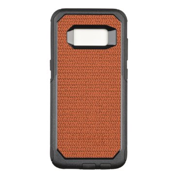 Beach Themed Salmon Coral Weave Mesh Look OtterBox Commuter Samsung Galaxy S8 Case
