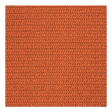 Beach Themed Salmon Coral Weave Mesh Look Poster
