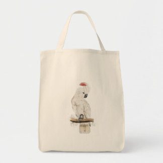 Salmon-Crested Cockatoo by Edward Lear Bag