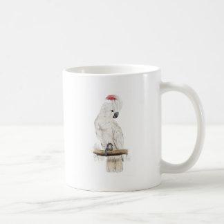 Salmon-Crested Cockatoo by Edward Lear Coffee Mug