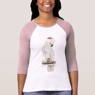 Salmon-Crested Cockatoo by Edward Lear T-Shirt