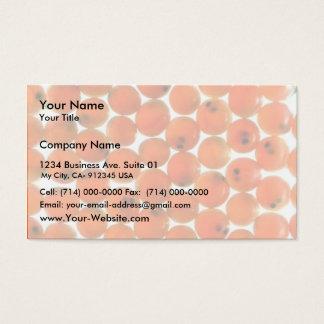 Salmon Egg Business Card