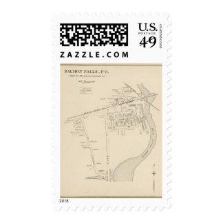 Salmon Falls PO Postage Stamps