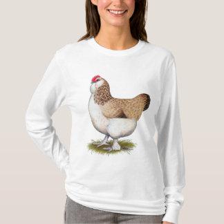 Salmon Faverolle Hen T-Shirt