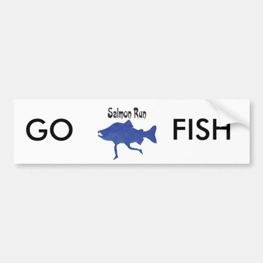 Salmon (FISH) Bumper Sticker