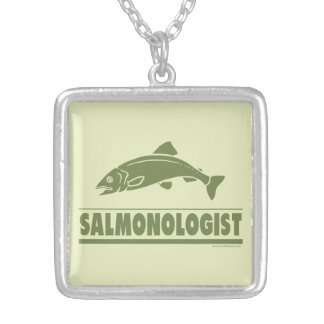 Salmon Fishing Pendant