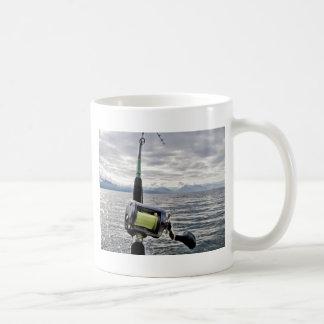 Salmon Fishing Rod Coffee Mug