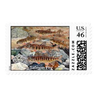 Salmon Fry Stamp