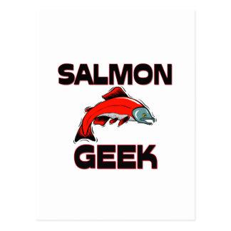 Salmon Geek Post Cards
