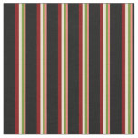 [ Thumbnail: Salmon, Green, Beige, Maroon, and Black Colored Fabric ]