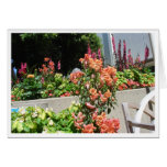 Salmon in Bloom Greeting Card