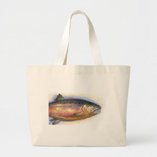 Salmon Jumbo Tote Bag