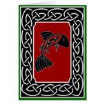 Salmon of Knowledge - Greeting Card