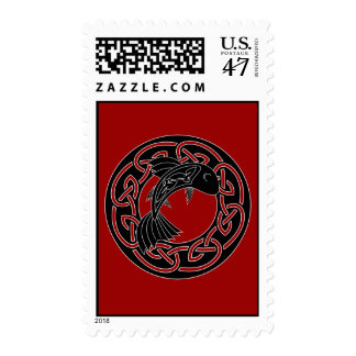 Salmon of Knowledge Postage Stamp