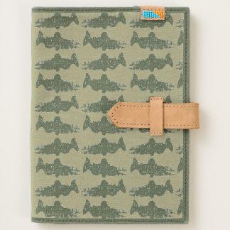 Salmon Patterned Journal