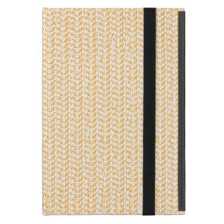 Salmon Peach Weave Mesh Look Case For iPad Mini