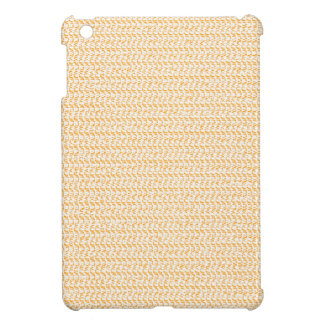 Salmon Peach Weave Mesh Look Case For The iPad Mini