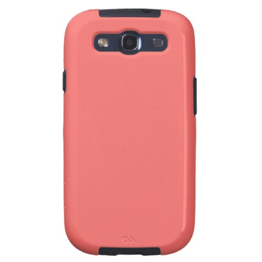 Salmon Pink Samsung Galaxy S Case