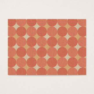 Salmon Poka Dots Business Card