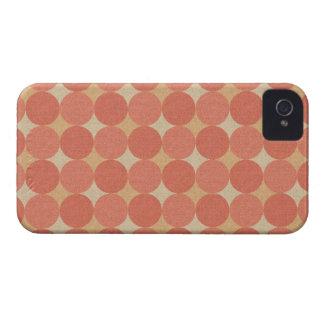 Salmon Poka Dots iPhone 4 Covers