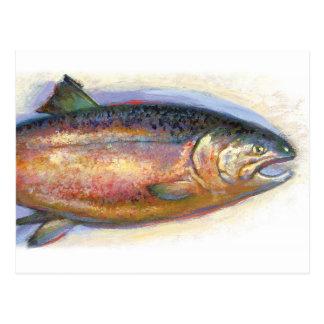Salmon postcard