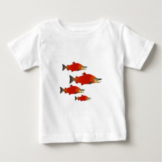 Salmon Rally Baby T-Shirt