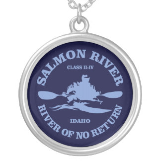 Salmon River (kayak) Pendant