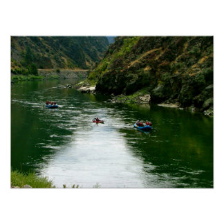 Salmon River Repose Poster