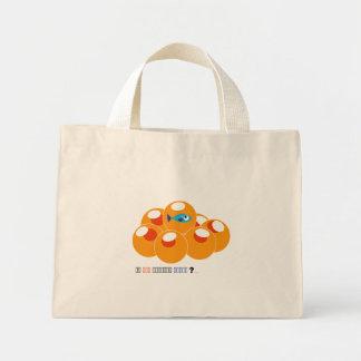 salmon roe canvas bag