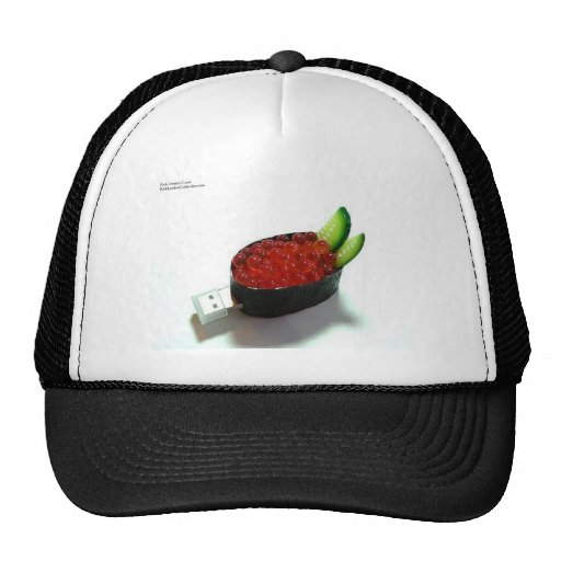 Salmon Roe Sushi Gifts Tees Mugs Cards Etc. Trucker Hat