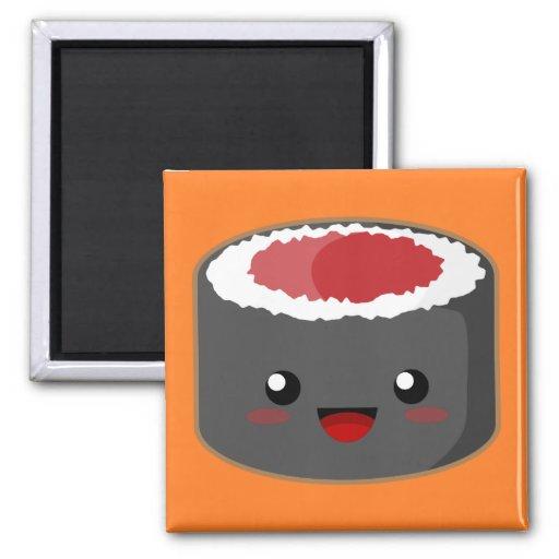 Salmon Roll Fridge Magnets