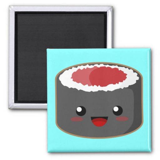 Salmon Roll Fridge Magnet