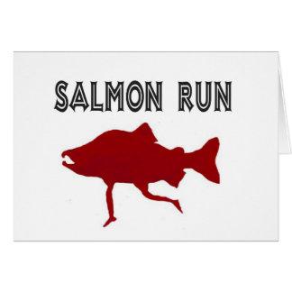salmon Run Red Cards