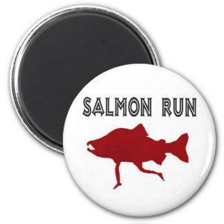salmon Run Red Magnet