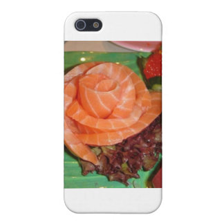 Salmon Sashami Gifts Cards & Collectibles Case For iPhone SE/5/5s