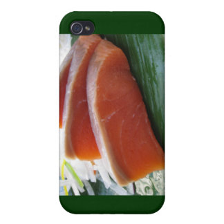 Salmon Sashami Maku Gifts Cards & More Cover For iPhone 4