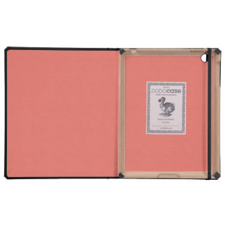 Salmon Solid Color iPad Cover