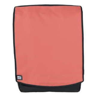 Salmon Solid Color Customize It Backpack