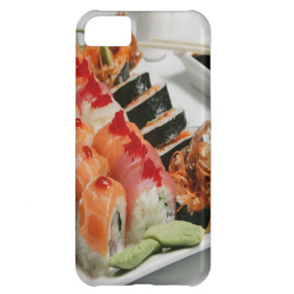 Salmon Sushi & California Rolls Cover For iPhone 5C