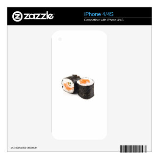 Salmon Sushi iPhone 4 Decal