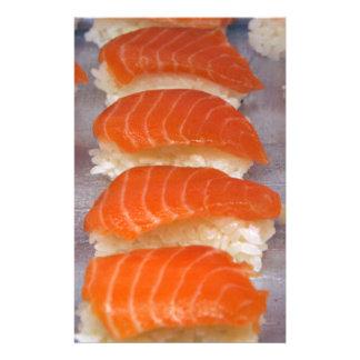 Salmon Sushi - Sashimi Stationery
