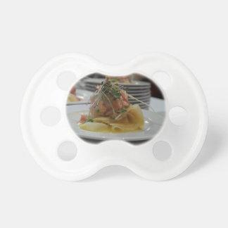 Salmon Tartare Pacifier