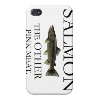 SALMON: THE OTHER PINK MEAT iPhone Case Cases For iPhone 4